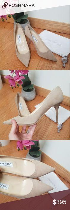 Jimmy Choo Suede Abel Pumps Absolutely beautiful heels! Bra new with dustbag  Jimmy Choo Shoes Heels