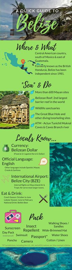 A Quick Guide to Belize by TravelLatte.net