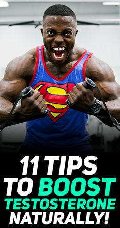 Check out these 11 simple tips to boost testosterone naturally! #fitness #exercise #gym #workout #bodybuilding #muscle #gymlife #gymmotivation