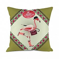 H's Flamingo - Mister Flamingo, seines Zeichens Businessmann, Stilexperte und Szenekenner. Selbstbewusst stolziert er durch den Alltag, hinterlässt jederzeit einen höflichen Eindruck und hat stets ein aufmunterndes Wort parat. Ein gerngesehener Gast auf jeder Party, ein zuverlässiger Partner in heiklen Angelegenheiten und ein loyaler Freund, auch in schlechten Zeiten. Manch einer wäre gerne wie Mister Flamingo. Und trotzdem nicht.