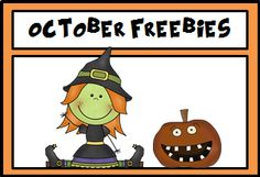 A Pinterest Board full of freebies for the month of October!