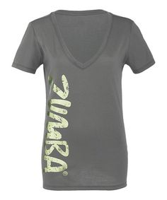 Take a look at this Gravel Idol V-Neck Tee by Zumba® on #zulily today!