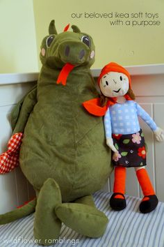 education for every child with IKEA soft toys - wildflower ramblings