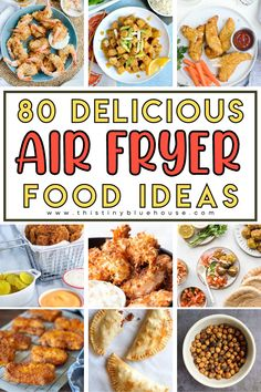 Here are 80 absolutely delicious and healthy air fryer recipes you're just going to love. Best Party Appetizers, Air Fryer Healthy, Easy Family Meals, Easy Weeknight Dinners, Air Fryer Recipes, Weight Watchers Meals, Food Preparation, Food Inspiration, Healthy Recipes