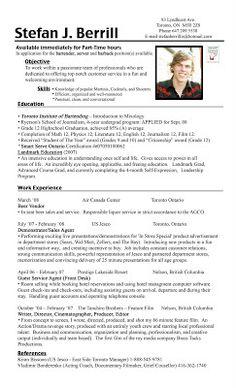 bartender resume example stefan berrill stefan berrill bartender resume