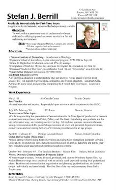 Bartending Resume Examples awesome sample bartender resume to use as template Bartender Resume Example Stefan Berrill Stefan Berrill Bartender Resume