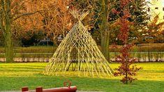 Živé stavby z vrby - vrbové stavby - Proutěné ploty a rohože na plot   Vrbové stavby - Naše realizace Living Willow, Garden Inspiration, Pergola, Outdoor Structures, Outdoor Pergola