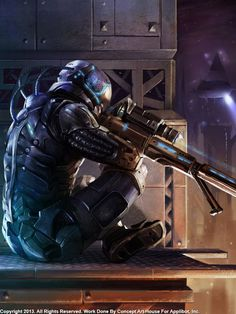 Sniper by Concept Art House - Copyright Applibot, Inc.