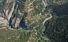 Stockalper Weg, Schallberg, Simplon, Wallis, Switzerland / by Schweizer Luftwaffe
