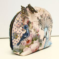 The Aviary makeup bag by Disaster Designs | Little Moose | Cute bags, gifts, toys, jewellery and accessories from independent designers and famous brands