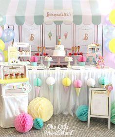 Adorable Ice Cream Party Ideas