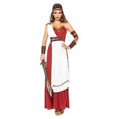 Women's Spartan Goddess 3pc Costume