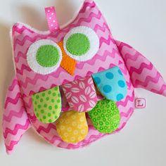 Rick Rack Crinkle Owl