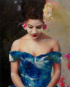 Lita Cabellut - Contemporary Artist - Billie Holiday
