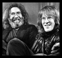 Jerry Garcia & Paul Kantner