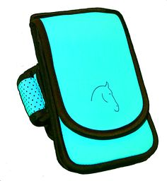 The Horse Holster is the equestrian solution to carrying your necessities while riding. The Horse Holster fits ALL size cell phones and cases, including Otterbox and Lifeproof cases. Front zipper pock