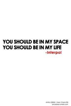 Lyrics-Narc Interpol