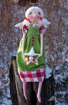 Doll Pattern Christmas