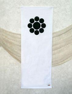 Kagetsuna Katakura, Fujitaka Hosokawa & Tadaoki Hosokawa Battle Flag Design Gym Towel
