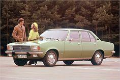 40 Jahre Opel Rekord D