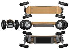 300W Electric Skateobard - skatetek.com