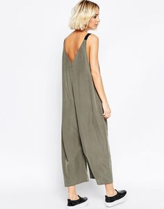 Image 2 of ASOS Oversized Minimal Jumpsuit