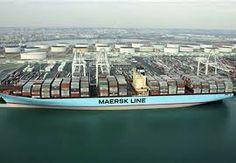 Barco de carga de contenedores: Ivan Maersk Line, Ocean, Outdoor Decor, Boats, Countries, Cities, The Ocean, Sea