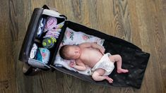 Diaper bags with an integrated changing station. Changing Station, Changing Pad, Best Diaper Bag, Diaper Bags, Wine Mom, Mom Mug, Poor Children, Mom Birthday Gift, Our Baby
