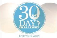 30 day challenge logo for Amazing Yoga - by alanna james