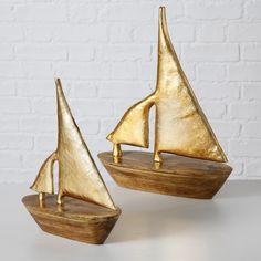 Let's sail away! #segelboot #sailboat #gold #trendy #maritim #summer #boathouse