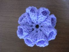 Crochet Flower Tutorial @Af's 1/3/13