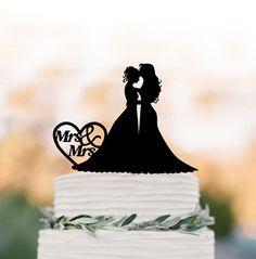 lesbische bruidstaart topper mevrouw en mevrouw grappig