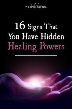 16 Signs That You Have Hidden Healing Powers Amongst us, there are lots of people who have hidden healing powers and they have the capability to make things better for others and inculcate positivity. Spiritual Healer, Spiritual Guidance, Spiritual Practices, Spiritual Awakening, Spiritual Counseling, Awakening Quotes, Spiritual Power, Spiritual Meditation, Meditation Quotes
