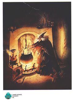 Набор открыток СССР Храбрый Том три 3 брата, ведьма, жёлтый город, кухня три…