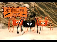 DIY Spooky Halloween Decorations - YouTube