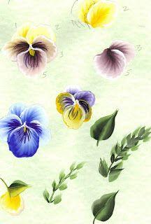 Pansy Worksheet - Arts by the Kickapoohttp://www.kickapoofolkart.com/2012_12_01_archive.html