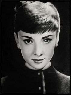 Audrey drawing by Ladowska.deviantart.com on @deviantART