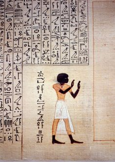 Papyrus of Maiherpri (Book of the Dead.)