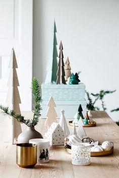 Les inspirations de tables de fêtes pour Noël