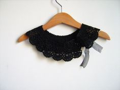 Collar Necklace Handmade crochet Peter Pan Collar by NMNHANDMADE, $29.00