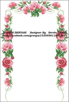 Prayer Rug, Baby Knitting Patterns, Embroidery Stitches, Floral Wreath, Cross Stitch, Wreaths, Jewelry, Instagram, Daisies