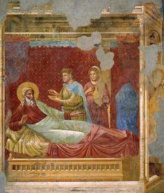 Церковь Сан-Франческо в Ассизи. Исаак отвергает Исава. Джотто ди Бондоне