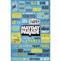 Mayday Parade - Posters - Limited Concert Promo:Amazon:Home  Kitchen