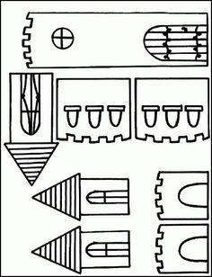 Autour des châteaux et princesses Fairy Tale Crafts, Fairy Tale Theme, Chateau Moyen Age, Quiet Book Templates, Dragon Princess, Fairy Tales For Kids, Legends And Myths, Château Fort, Pop Up Cards