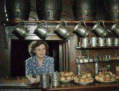 Wonderful Color Photos of Life in England in the 1950's