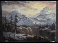 ▶ Paint with Kevin Hill - Soft Mountain Range - YouTube