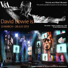 David Bowie is. exhibition at The V&A museum in London. A brilliantly put together show. David Bowie Tattoo, David Bowie Art, Kensington And Chelsea, V & A Museum, Thanks For The Memories, The V&a, Music Film, Victoria And Albert Museum, Your Music