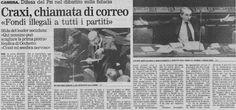 SCRIVOQUANDOVOGLIO: CRAXI,CHIAMATA DI CORREO (04/07/1992)