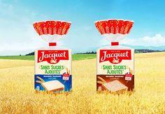 Partagez vos moments gourmands avec votre entourage autour du pain de mie Jacquet Sans Sucres Ajoutés ! Entourage, Bakery, Tin Loaf, Greedy People, Products, Bakery Shops