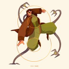 Nice Illustrations of Characters and Numbers – Fubiz Media